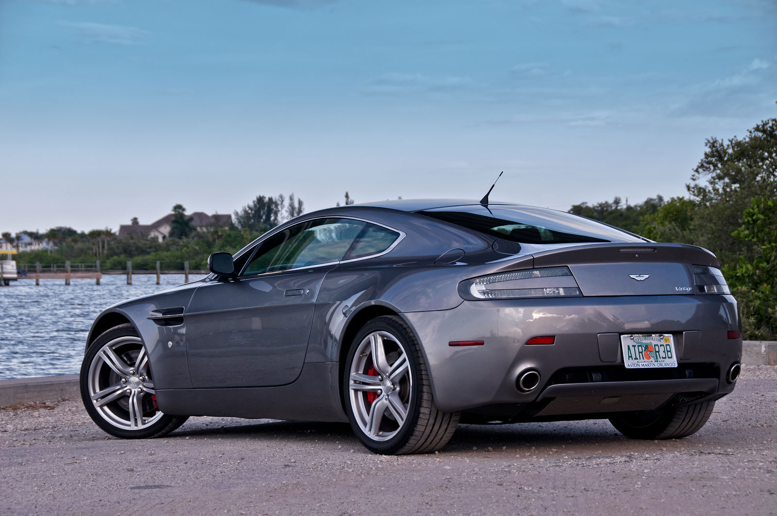 2007 aston martin vantage for sale. Black Bedroom Furniture Sets. Home Design Ideas